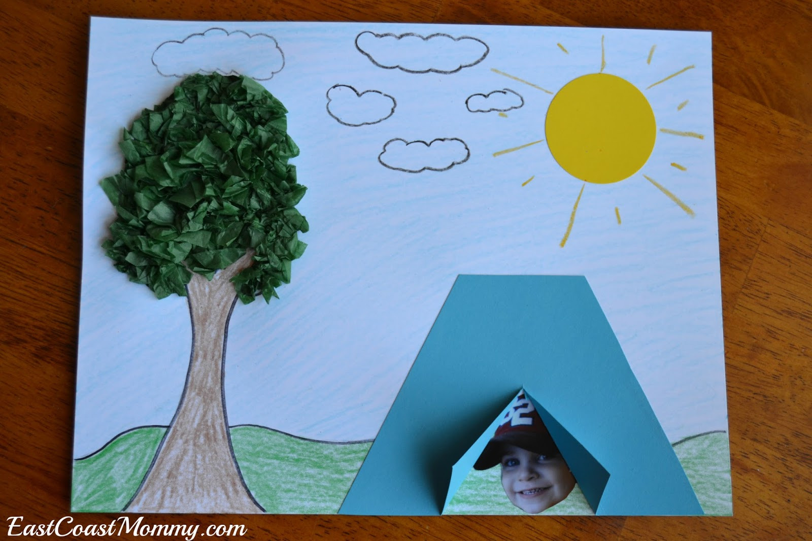 Camping Crafts For Preschoolers  East Coast Mommy Camping Crafts and Activities