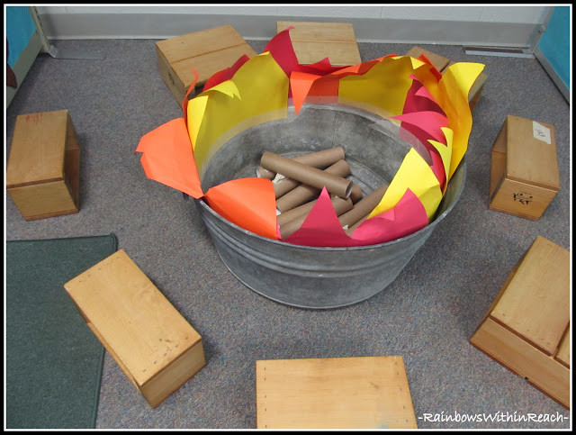 Camping Crafts For Preschoolers  Preschool Ponderings Camping fun in the dramatic play center