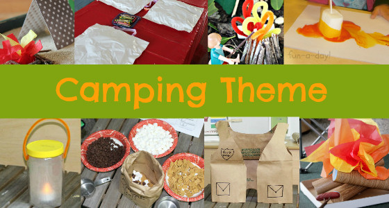 Camping Crafts For Preschoolers  Camping Theme Activities