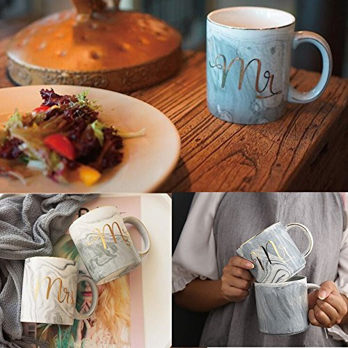 Camping Gift Ideas For Couples  Mr Mrs Couples Camping Ceramic Coffee Mug Set 14oz