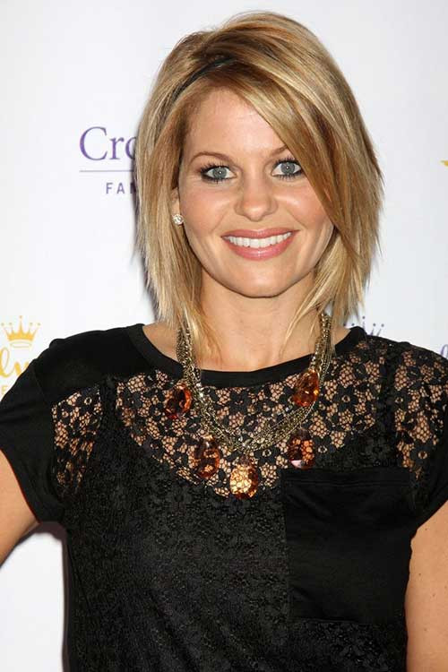 Candace Cameron Bure Hairstyle  15 New Shoulder Length Bob Hairstyles