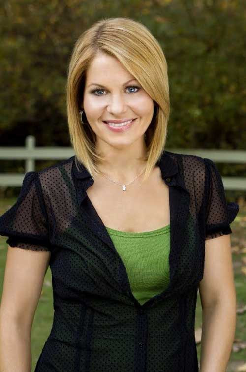 Candace Cameron Bure Hairstyle  20 New Celebrities with Bob Haircuts