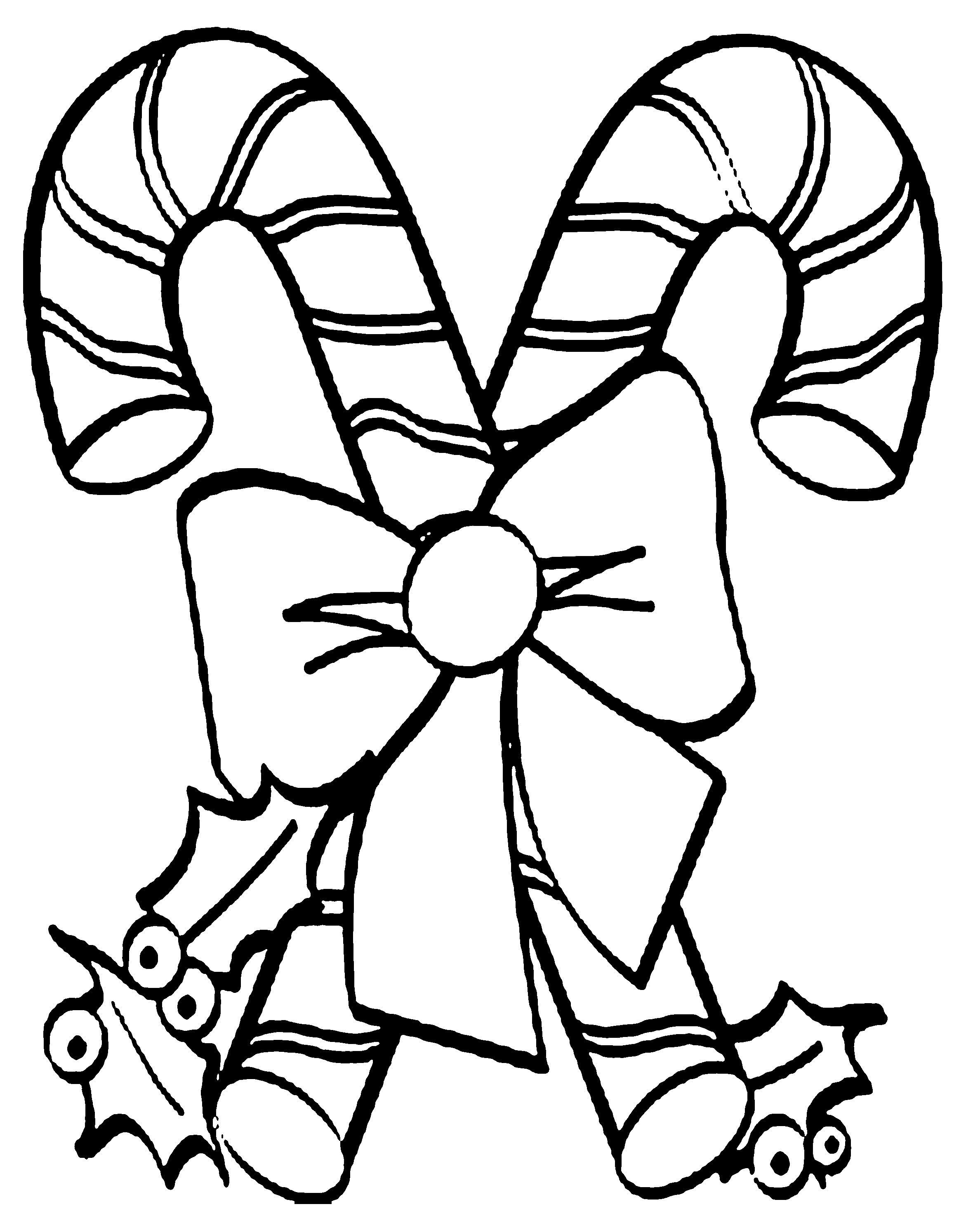 Candy Canes Coloring Pages  15 candy cane coloring pages printable Print Color Craft