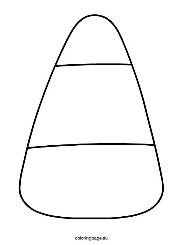 Candy Corn Coloring Pages  Candy Corn