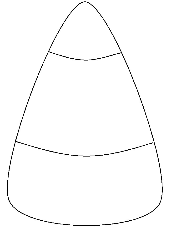 Candy Corn Coloring Pages  Candy Corn ClipArt Best