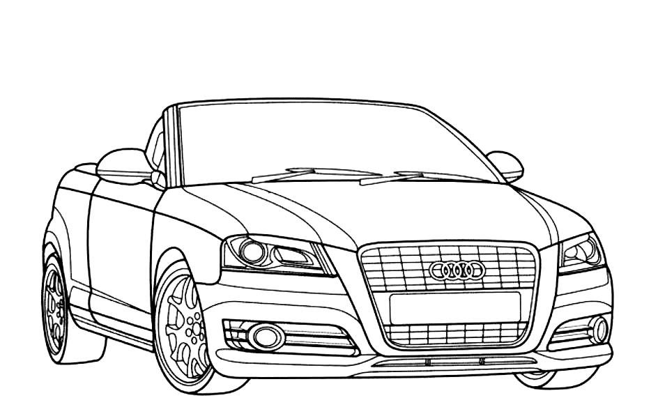 Car Coloring Books For Adults  Car Coloring Pages