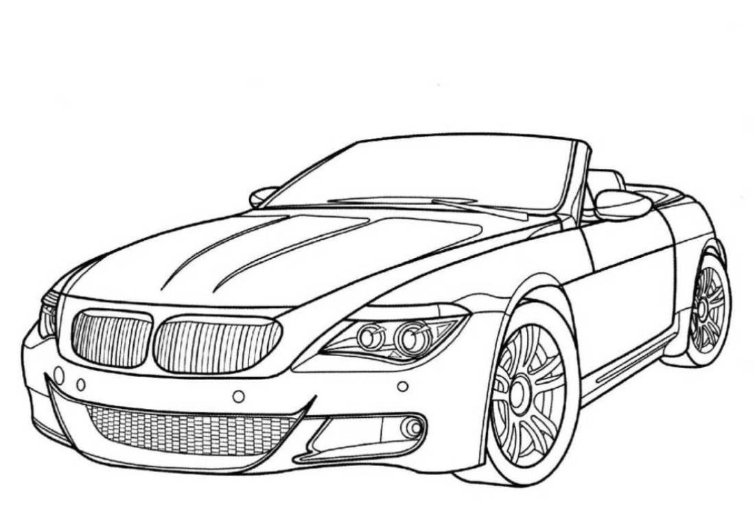 Car Coloring Books For Adults  Car Coloring Pages Free Download