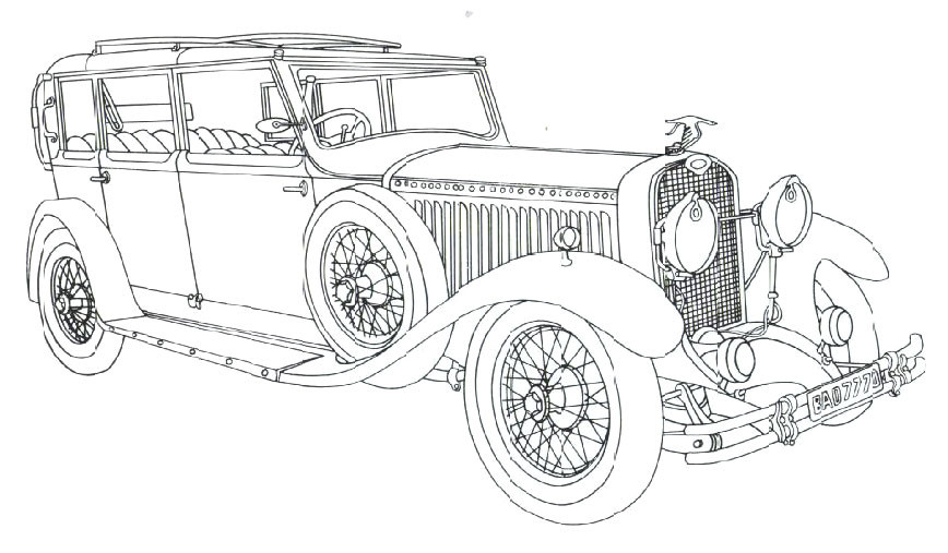 Car Coloring Books For Adults  American Muscle Car Coloring Pages Gianfreda