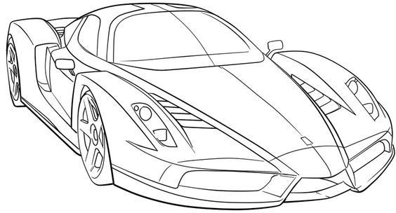 Car Coloring Books For Adults  Sports Cars Adult Coloring Sport Cars Sports Car