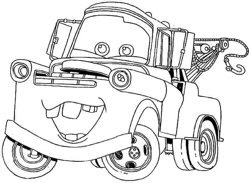 Best ideas about Car Coloring Pages For Girls . Save or Pin Car Movie Coloring Pages AZ Coloring Pages Now.