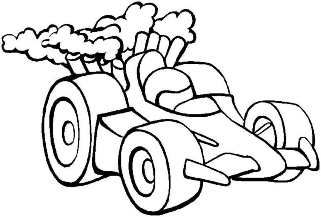 Best ideas about Car Coloring Pages For Girls . Save or Pin 45 Race car coloring pages and crafts cakes for kids Now.