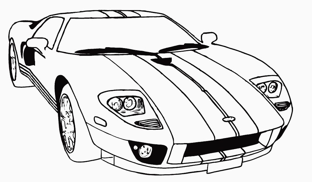 Car Coloring Pages For Kids  Free Printable Race Car Coloring Pages For Kids