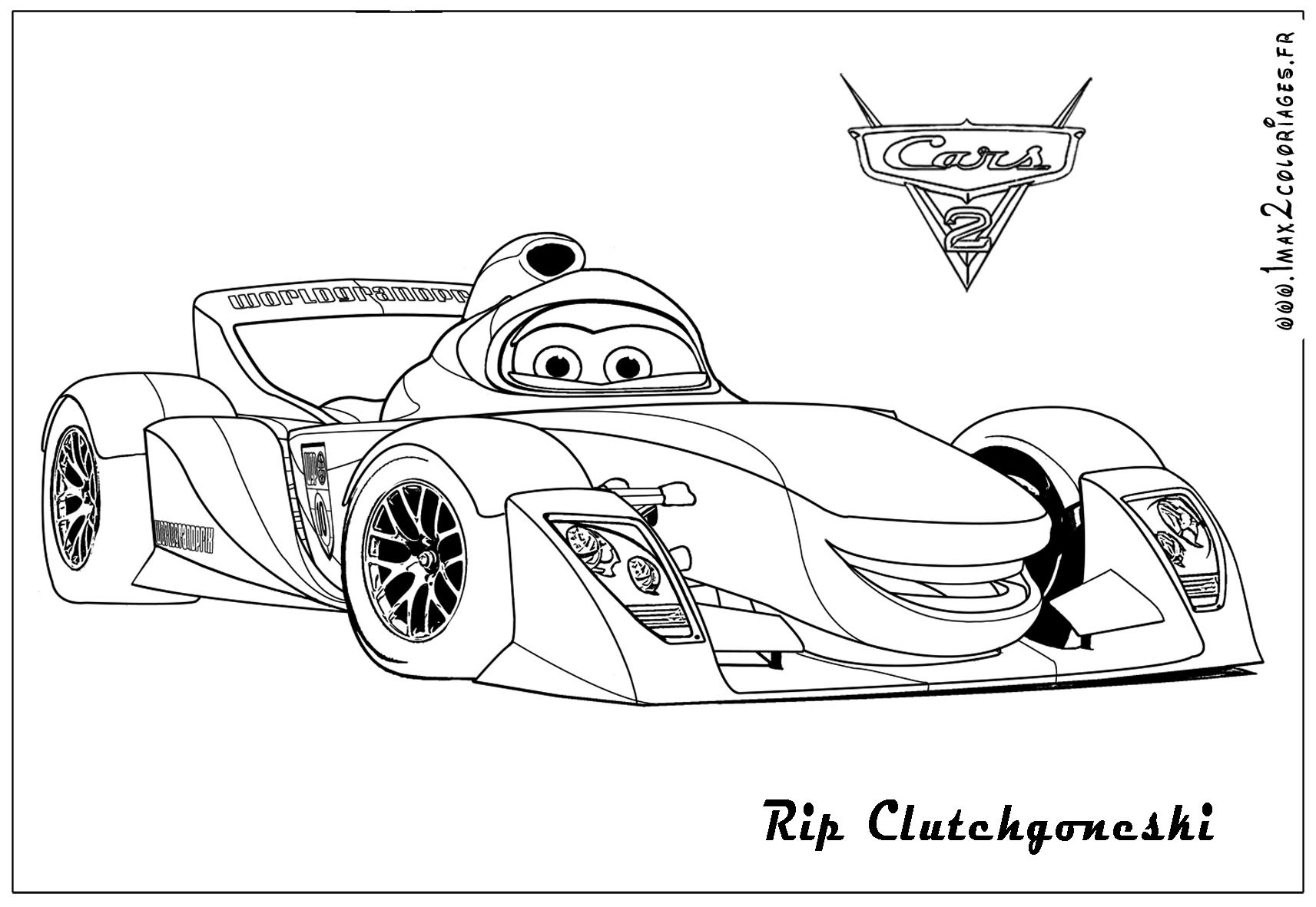 Car Coloring Sheets For Boys  Cars 2 Coloring Pages For Boys – Color Bros