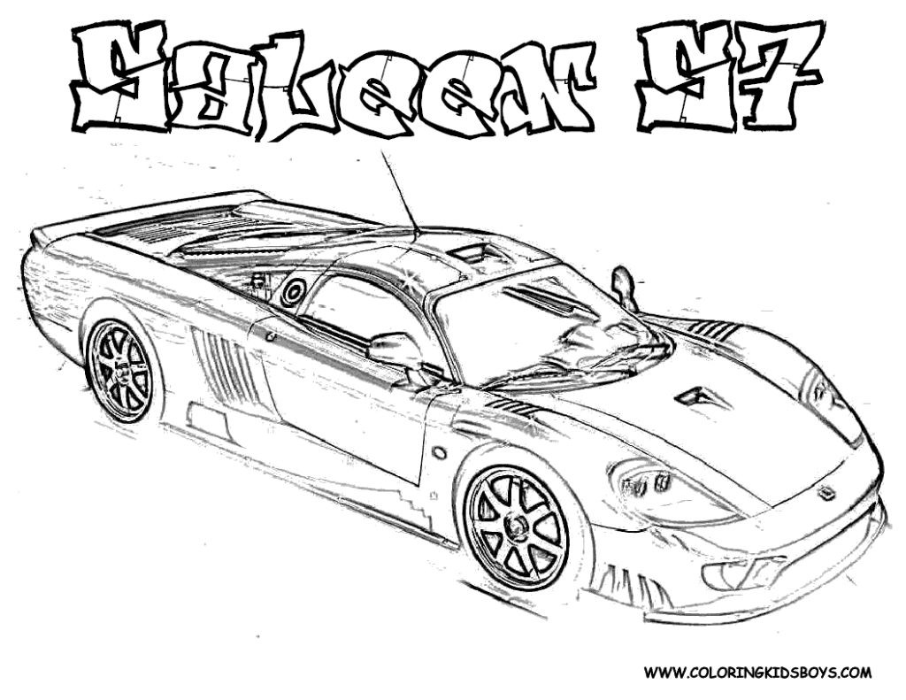 Car Coloring Sheets For Boys  Cars Coloring Pages For Boys Tasty grig3