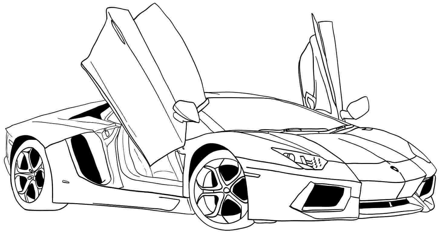 Car Coloring Sheets For Boys  coloring pages for boys cars printable