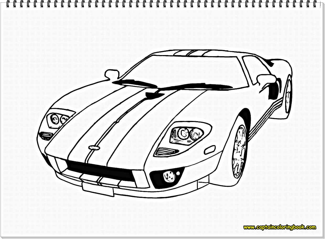 Car Coloring Sheets For Boys  FREE COLORING PAGES FOR BOYS CARS Coloring Page