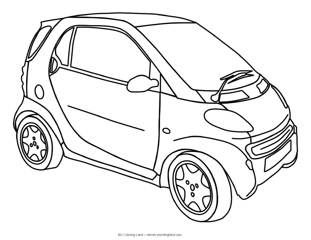 Car Printable Coloring Pages  Cars My Coloring Land