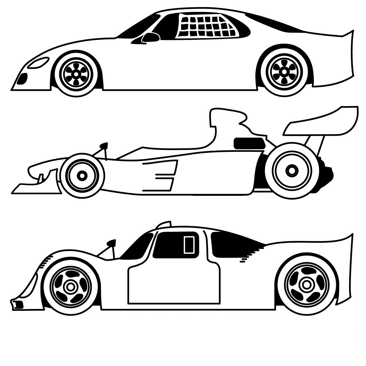 Car Printable Coloring Pages  Free Printable Sports Coloring Pages For Kids