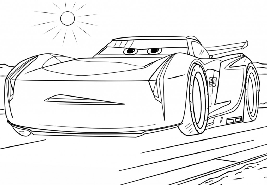 Car Printable Coloring Pages  Cars Coloring Pages Best Coloring Pages For Kids