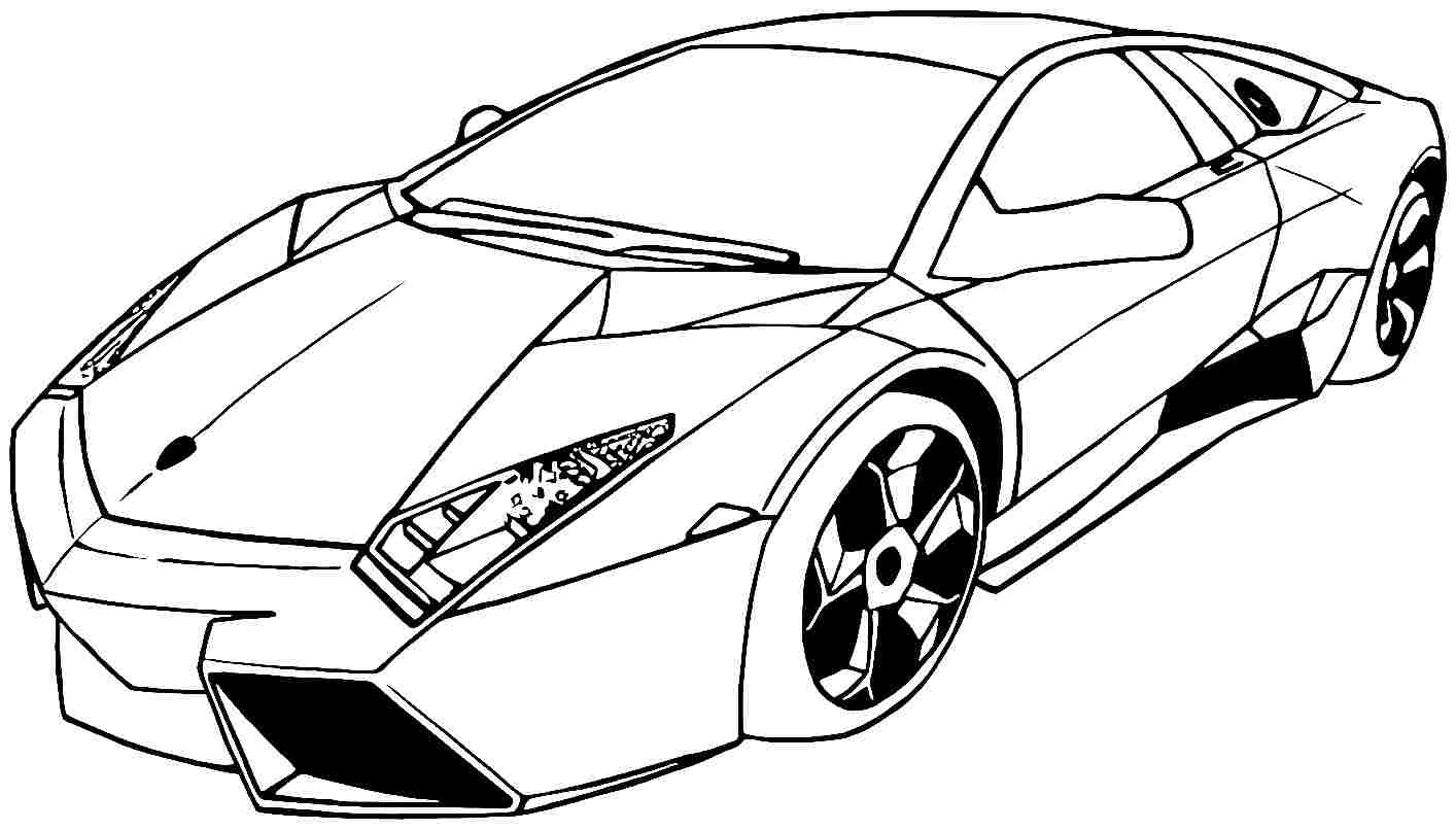 Car Printable Coloring Pages  Car Coloring Pages Best Coloring Pages For Kids