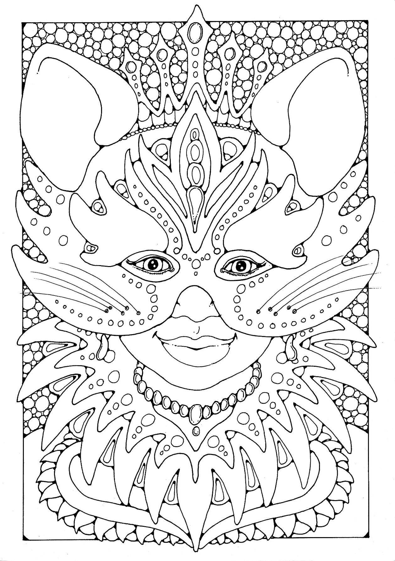 Carnival Coloring Sheets For Kids  Carnival Coloring Pages coloringsuite