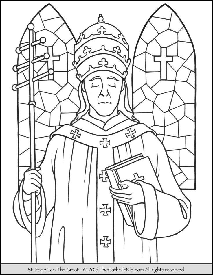 Catholic Coloring Books  28 best Catholic Saints Coloring Pages images on