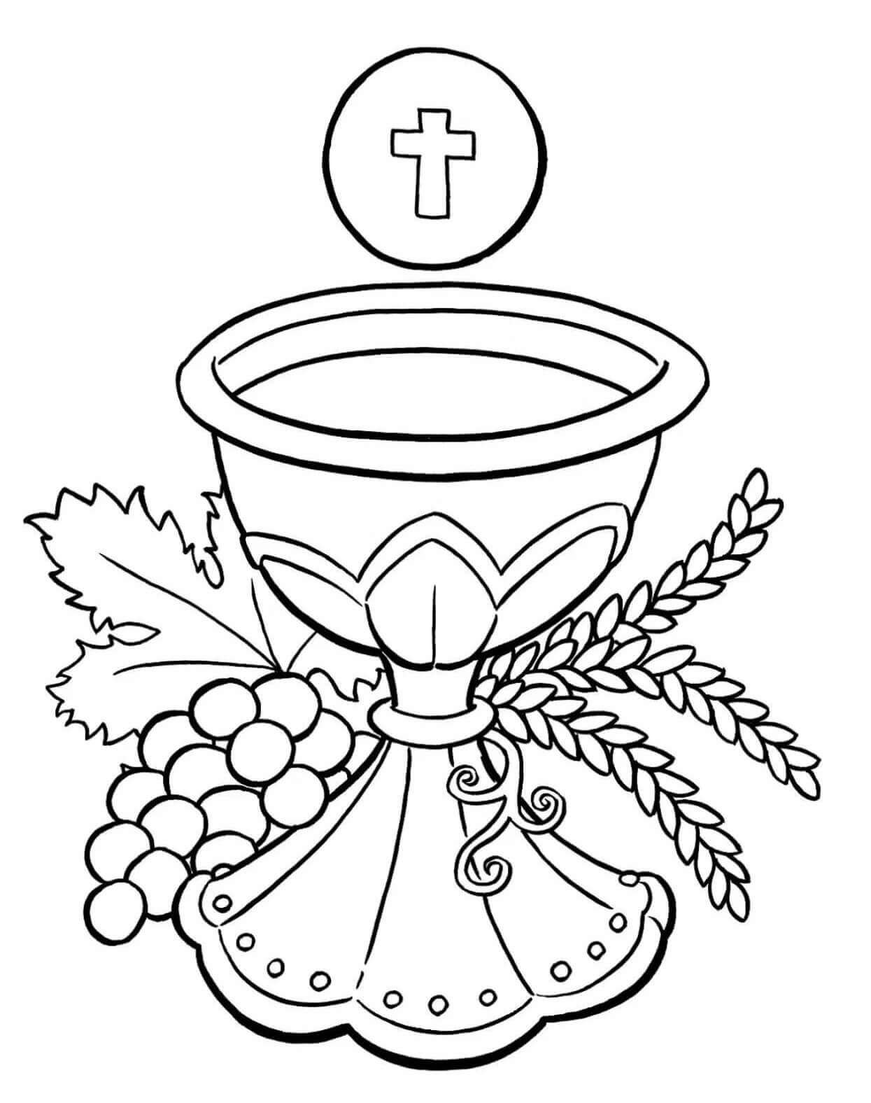 Catholic Coloring Books  Free Printable Lent Coloring Pages