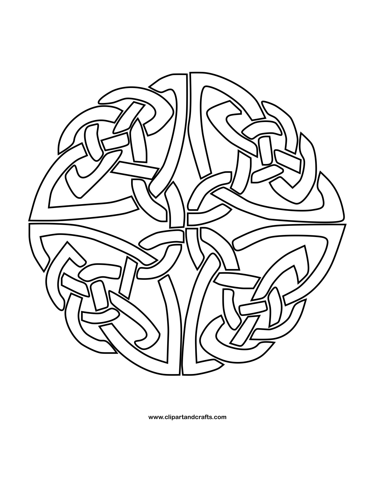 Celtic Coloring Pages For Adults  Mandala Monday More Free Celtic Mandalas to Color