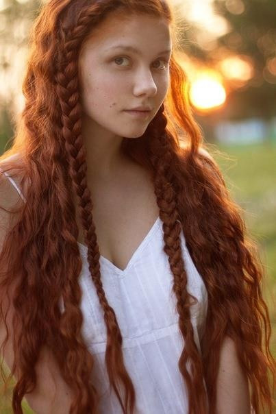 Celtic Hairstyles Female  94 best images about for redheads long hair on Pinterest
