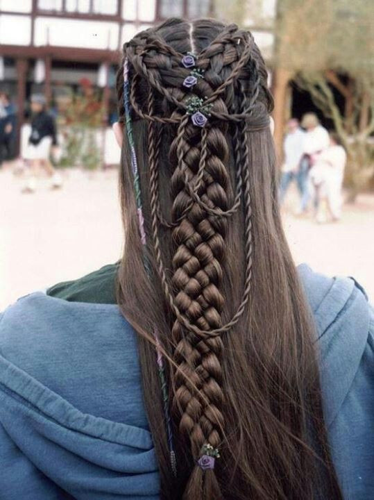 Celtic Hairstyles Female  Celtic Bridal Hairstyles