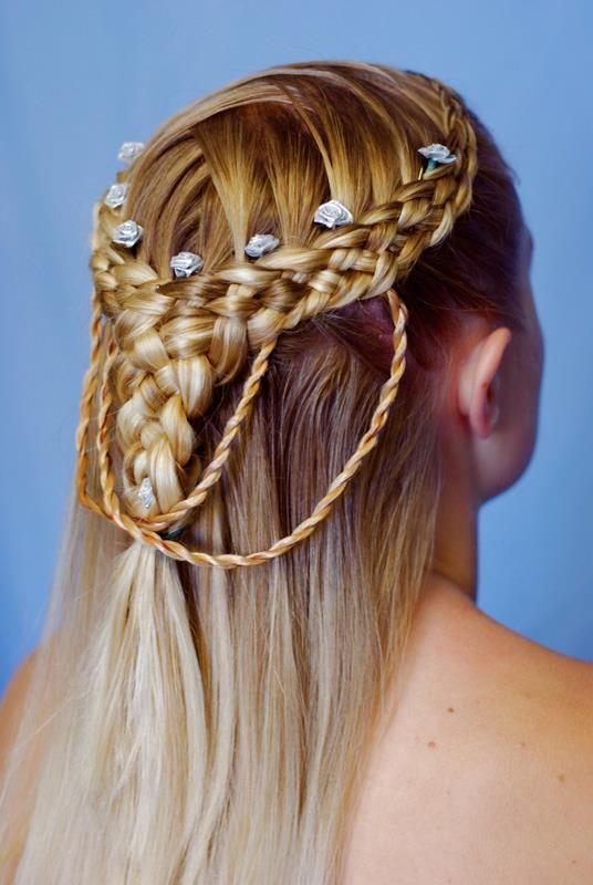 Celtic Hairstyles Female  Celtic Hair for Irish Wedding Hairstyle