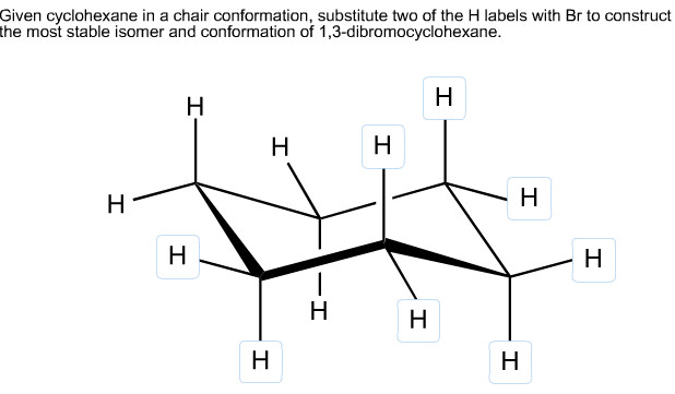 Best ideas about Chair Conformation Of Cyclohexane . Save or Pin Solved Given Cyclohexane In A Chair Conformation Substit Now.