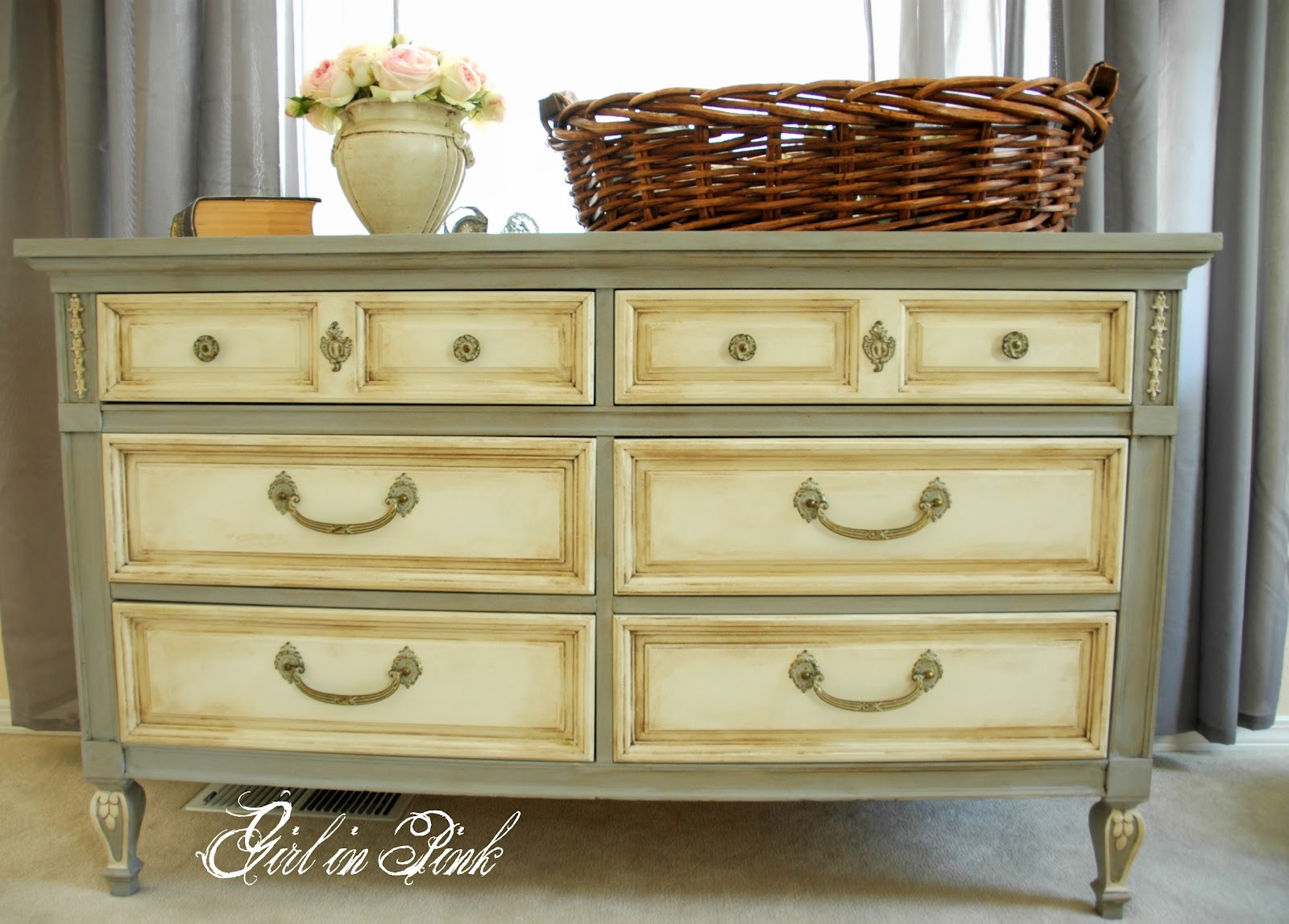 Best ideas about Chalk Painted Furniture Ideas . Save or Pin Shades of Amber Chalk Paint Link Party Now.