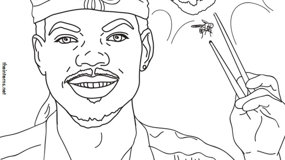 Chance The Rapper Coloring Book Lyrics  The Interns make Chance The Rapper s Coloring Book Into