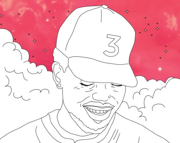 Chance The Rapper Coloring Book Lyrics  Chance The Rapper Coloring Books Are Now Available