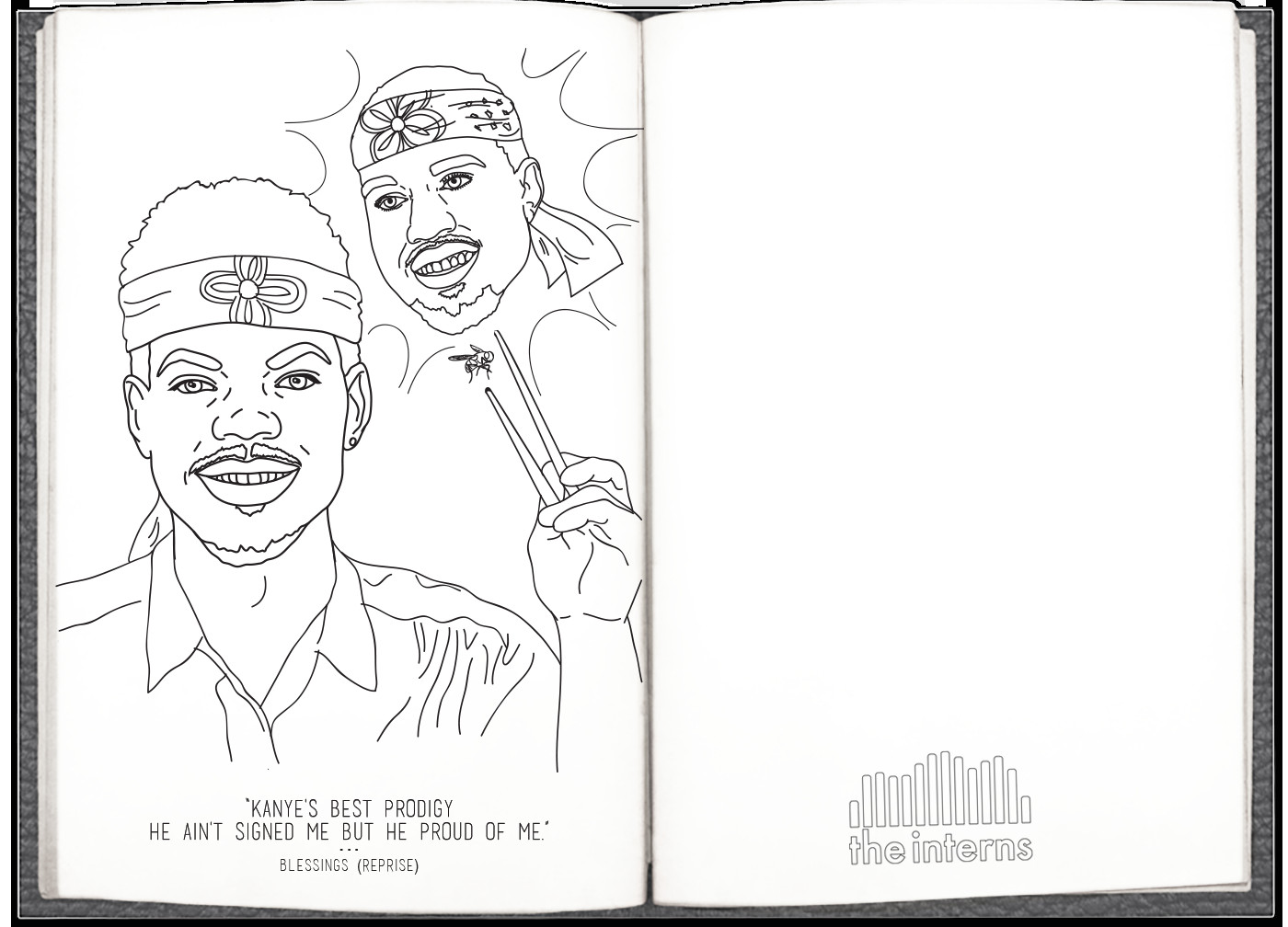 Chance The Rapper Coloring Book Lyrics  Chance The Rapper s Coloring Book Lyrics Are Now a