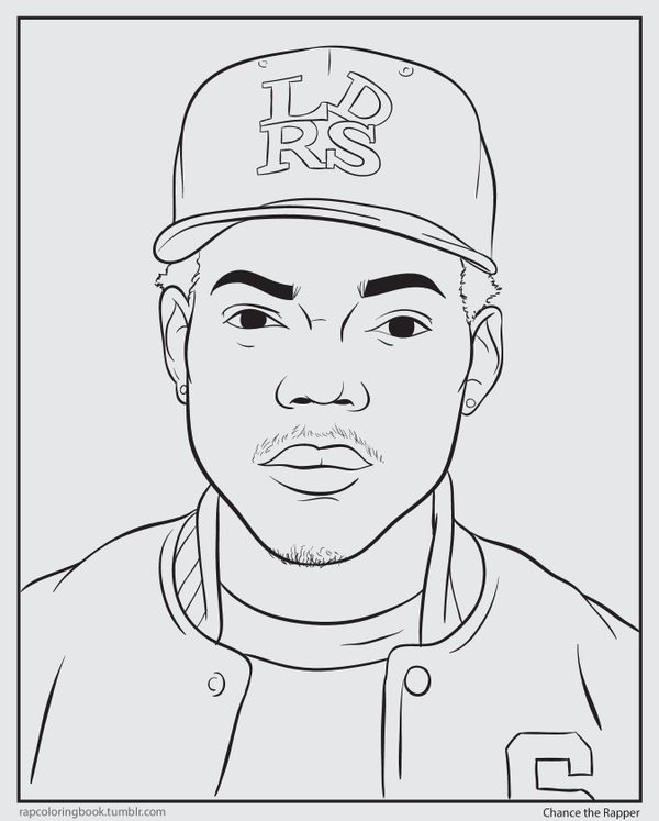 """Chance The Rapper The Coloring Book  Shea Serrano on Twitter """"i made an actual Chance the"""