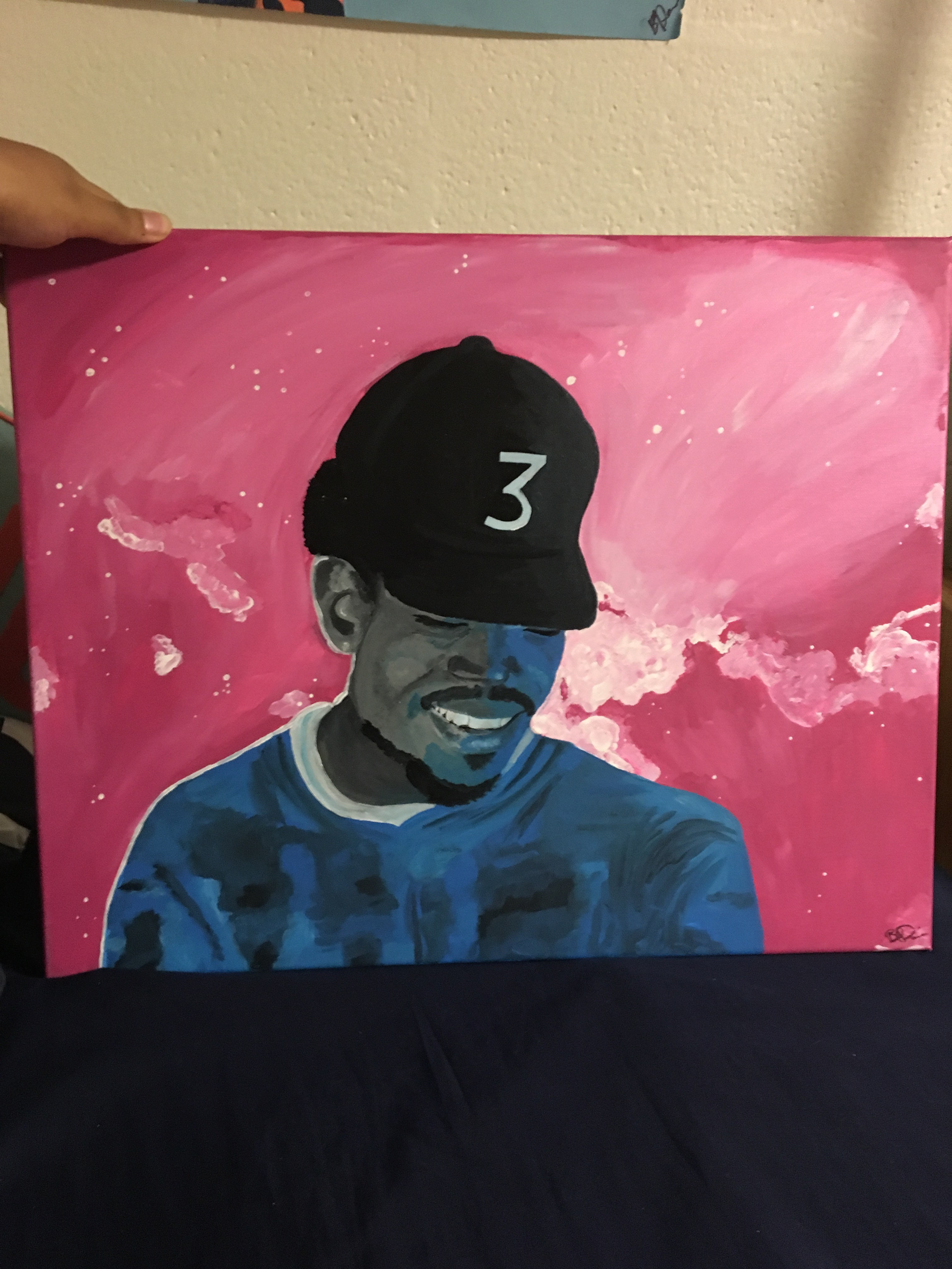 Chance The Rapper The Coloring Book  Chance the Rapper Coloring Book mixtape cover