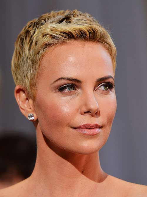 Charlize Theron Hairstyles  10 New Charlize Theron Pixie Haircuts