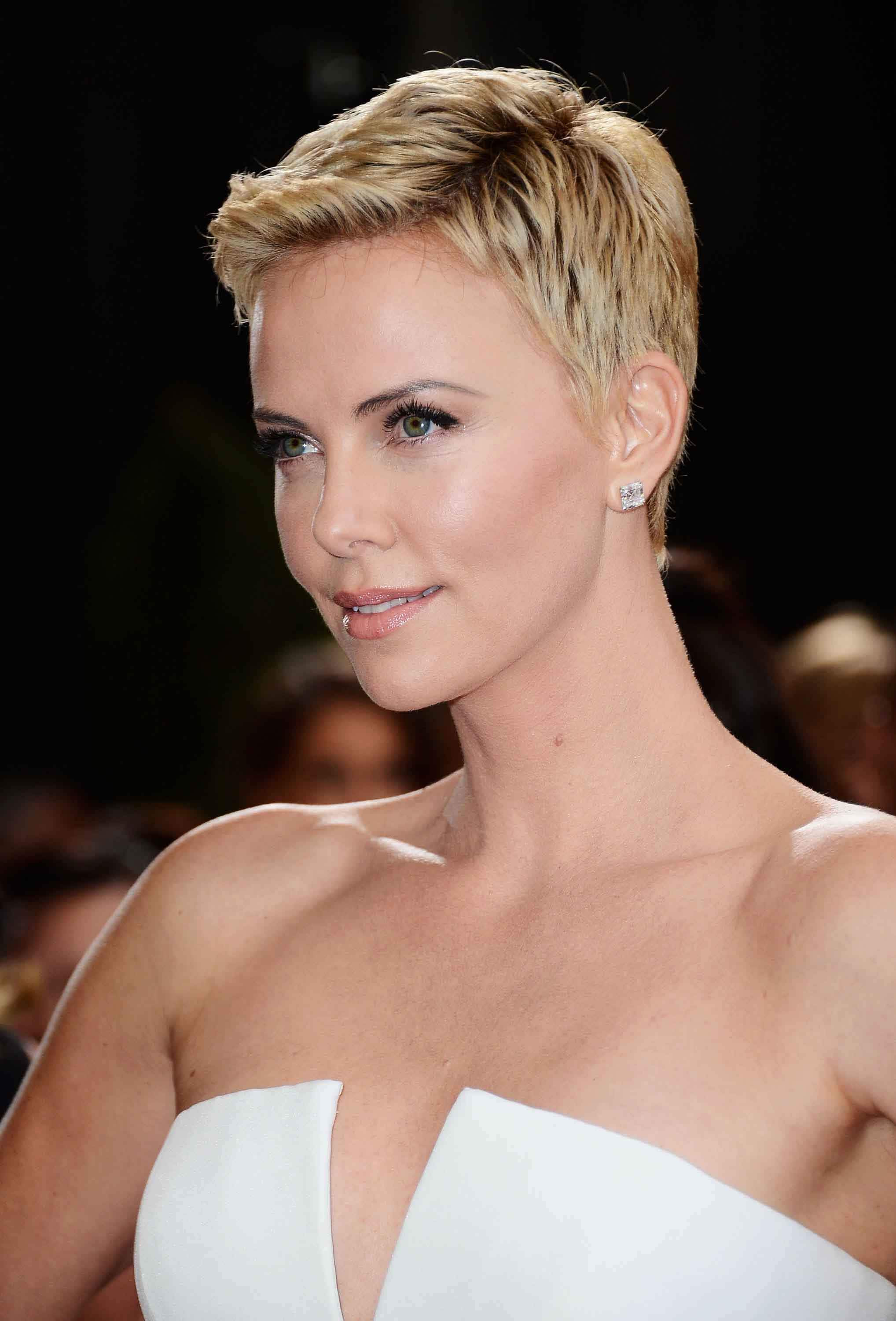 Charlize Theron Hairstyles  Our favourite pixie hairstyles of all time