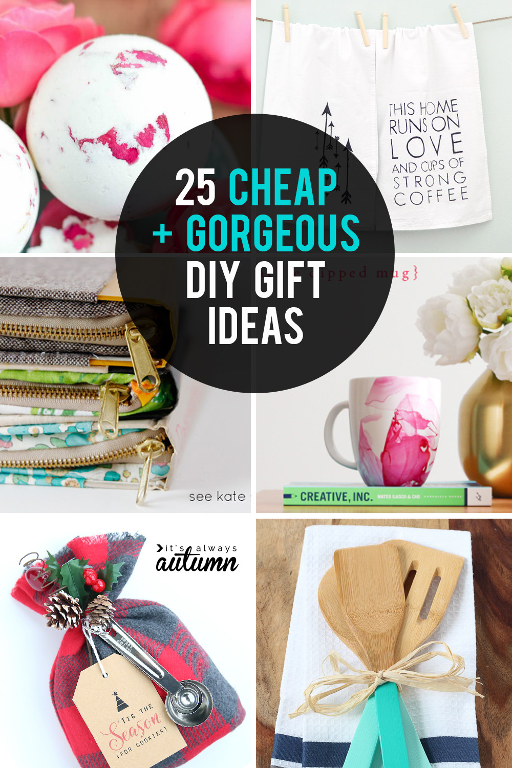 Best ideas about Cheap DIY Christmas Gifts . Save or Pin 25 cheap but gorgeous  DIY t ideas It s Always Autumn Now.