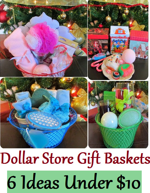 Best ideas about Cheap Homemade Gift Basket Ideas . Save or Pin Maria Sself Chekmarev Dollar Store Last Minute Christmas Now.