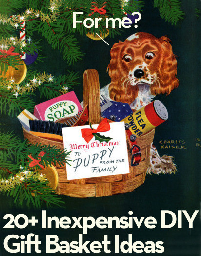 Best ideas about Cheap Homemade Gift Basket Ideas . Save or Pin Roundup 20 Inexpensive DIY Gift Basket Ideas We Love Now.