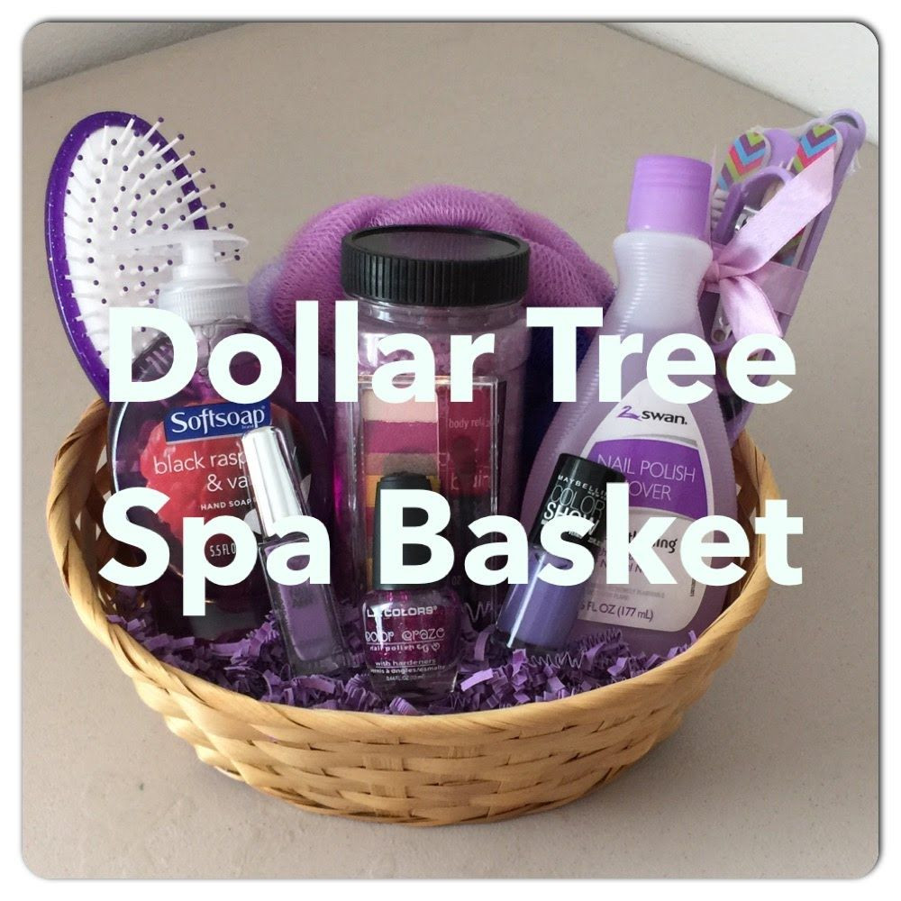 Best ideas about Cheap Homemade Gift Basket Ideas . Save or Pin DIY Dollar Tree SPA Gift Basket For Mother s Day Now.