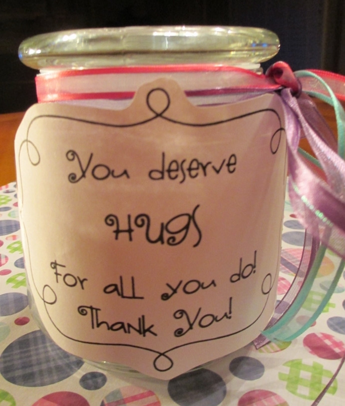 Cheap Thank You Gift Ideas  Quick and Easy Thank You Gifts for Classroom Volunteers