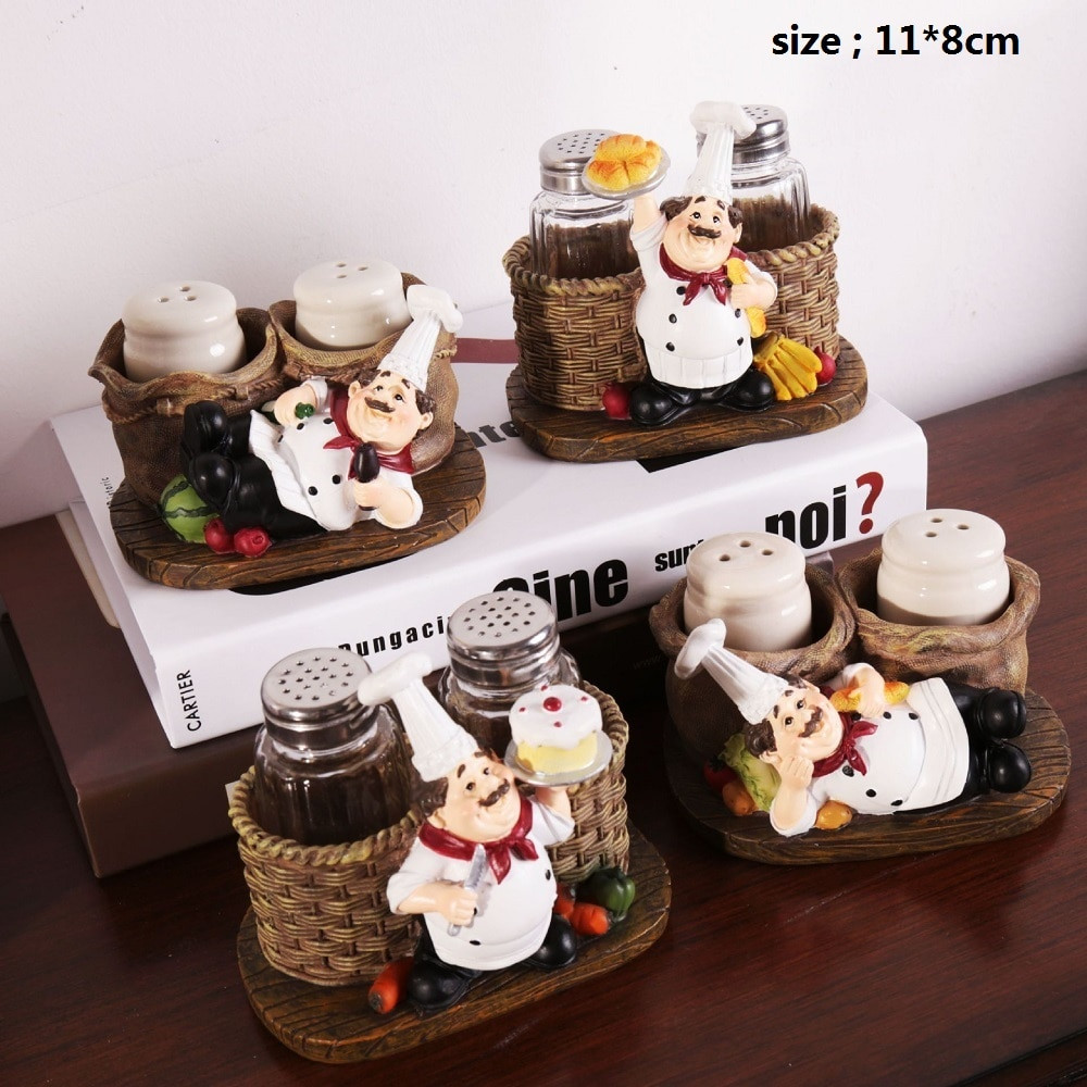 Best ideas about Chef Kitchen Decor Accessories . Save or Pin Cute Chef Pepper Bottle Ornaments Home Decoration Now.