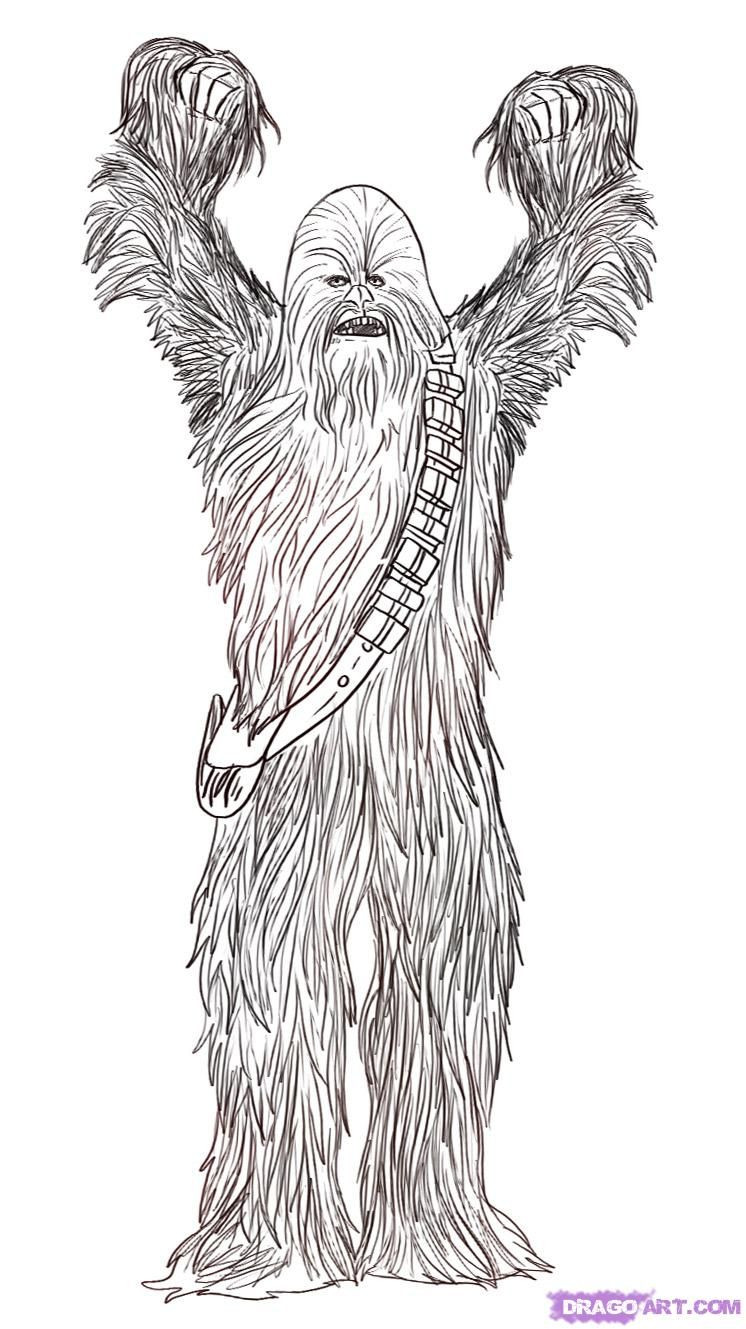 The 20 Best Ideas For Chewbacca Coloring Pages
