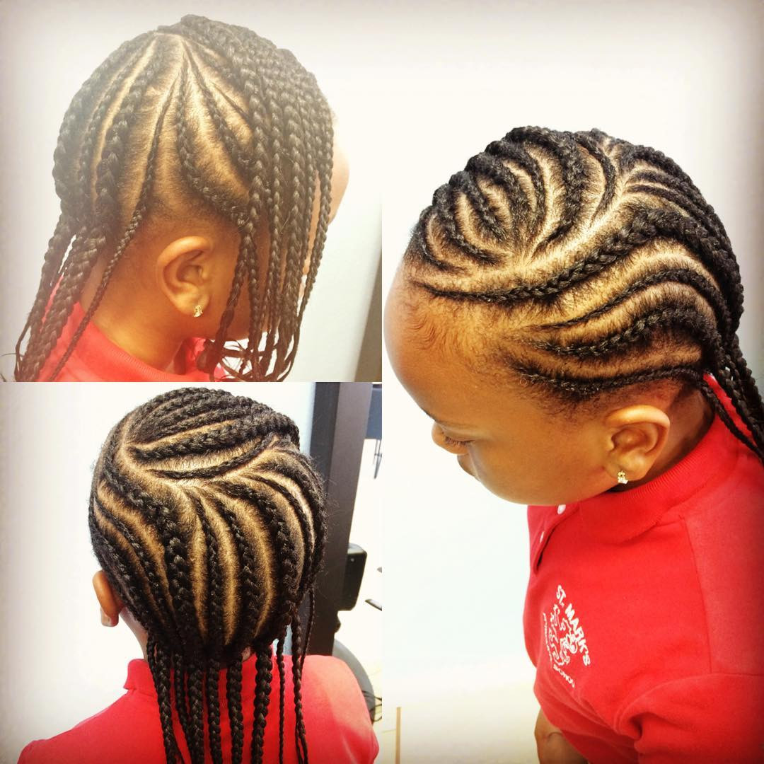 Child Hairstyles Braids  20 Braid Hairstyles for Kids Ideas Designs