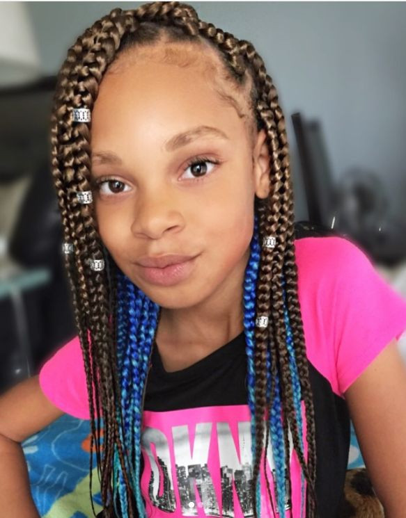 Child Hairstyles Braids  Easy 11 Box Braids Hairstyles for Kids