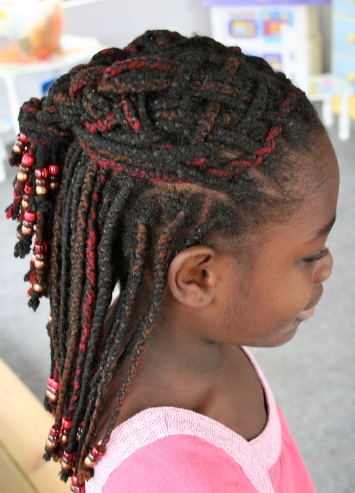 Child Hairstyles Braids  Nigerian Hairstyles For Kids